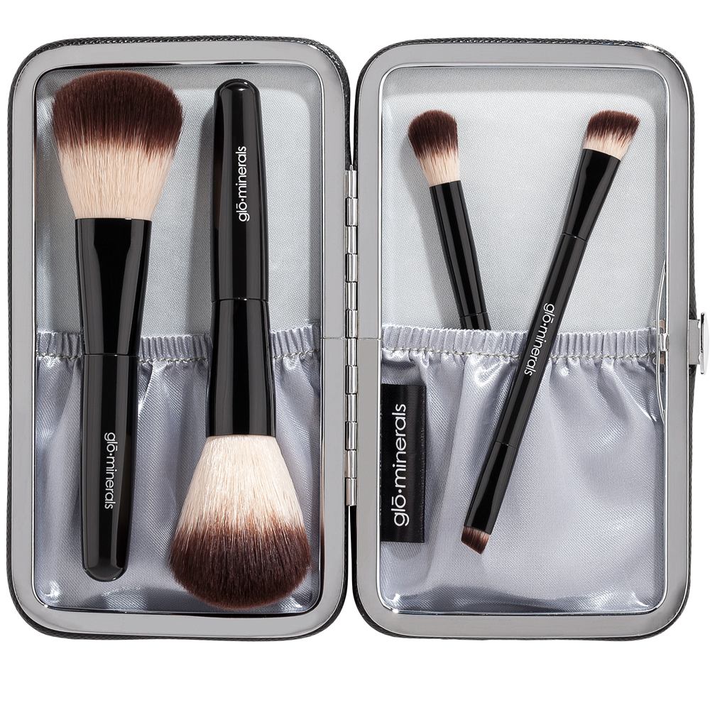 petite brush set open